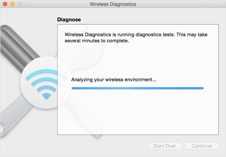 Native macOS Wireless Diagnostic Tool